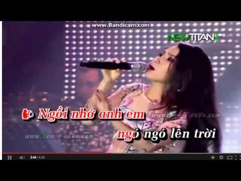 Chim Trang Mo Coi Karaoke(thieu giong nu)