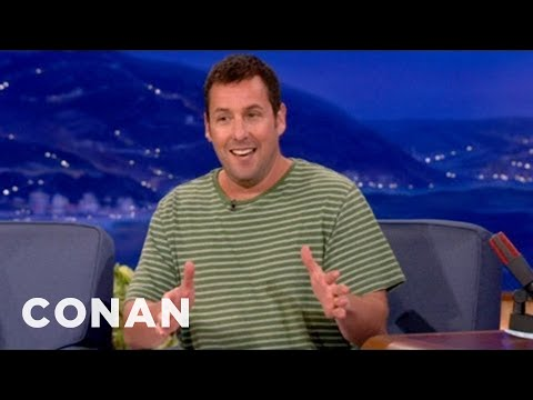 Adam Sandler Really Wants To See Shaq's Junk - CONAN on TBS