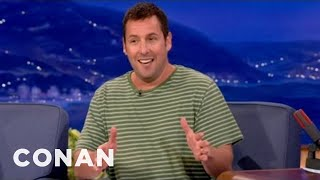 Adam Sandler Really Wants To See Shaq's Junk