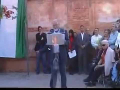 ACTO DE SEÑALIZACIÓN OFICIAL LMH TAPIA DEL CEMENTERIO GRANADA  Vid 1