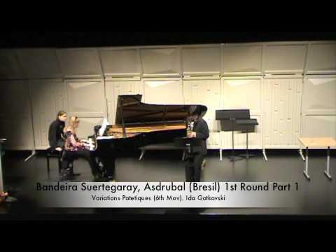 Bandeira Suertegaray, Asdrubal (Bresil) 1st Round Part 1