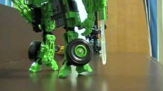 Transformers Alternity Super Black Convoy vs Long Haul Stopmotion Short