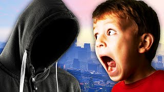 EXTREMELY SCARY STALKER TROLLING ON GTA 5