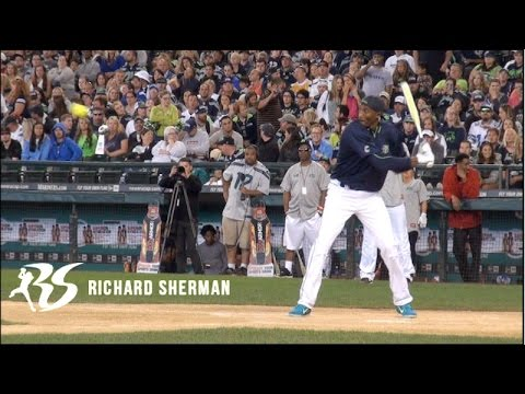 Kobe Bryant Plays Softball! Supports Richard Sherman's Blanket Coverage Foundation!