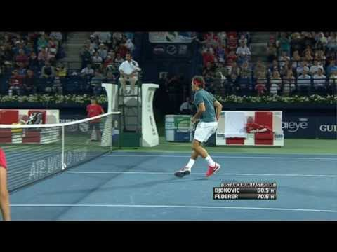 Dubai 2014 Hot Shot Federer