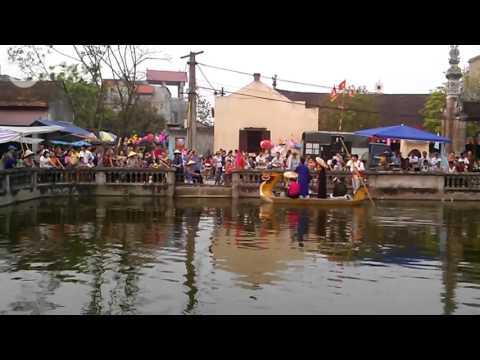 Còn duyên | Quan họ trên thuyền | Lễ hội truyền thống Xuân Trạch 10-3-2016 AL