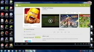 How To Dowload & Install Clash Of Clans In PC 2013 FREE