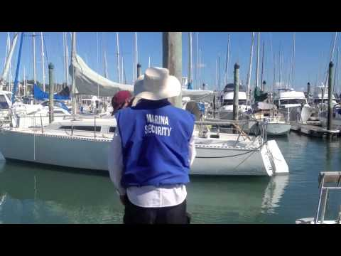 How to Simply Turn A Boat Around In A Marina Berth Using Ropes