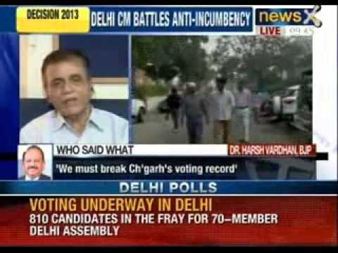 Capital contest India waits as Delhi votes in historic poll - NewsX