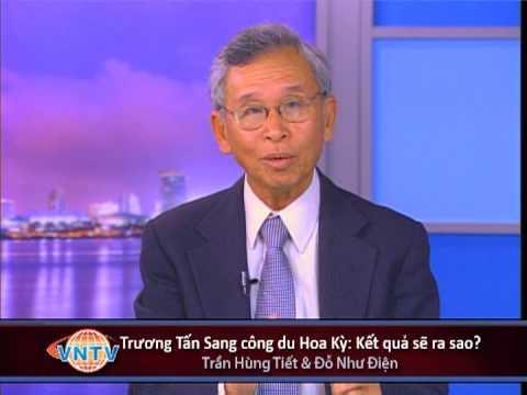 Bình Luận: Trương Tấn Sang công du Hoa Kỳ