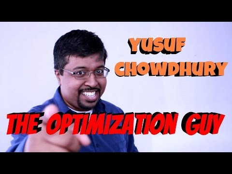 The Optimization Guy