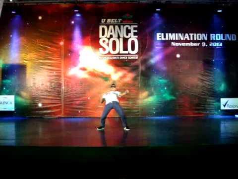UBelt Dance Solo 2013 Eliminations - WCC Caloocan, Dave Caunca