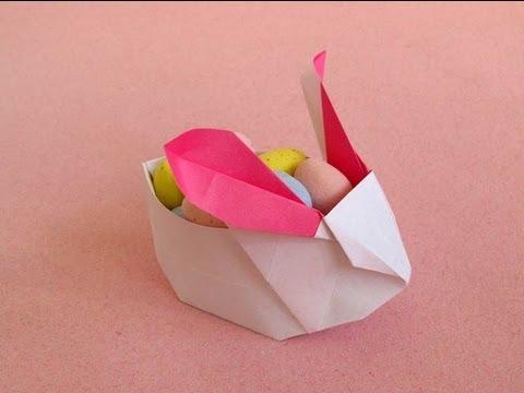 Origami Bunny Box Youtube