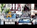 Akhil Spain Action Making video- Akhil & Action director's..