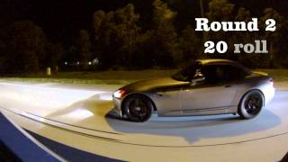 2013 Mustang 5.0(Nitrous) Vs Turbo Honda 2000 And 2014