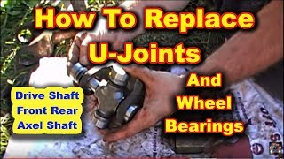 Front U Joint And Wheel Bearing Replacement Dodge Ram 2500