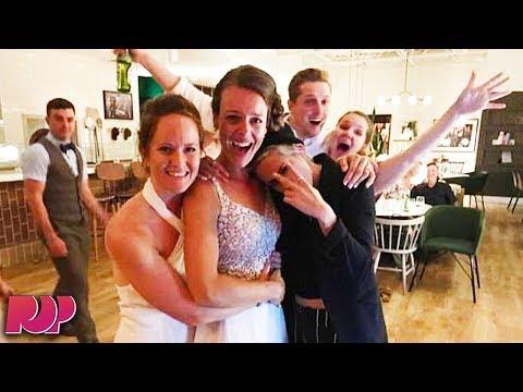 Kristen Stewart Crashes Lesbian Wedding!