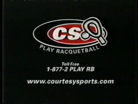 1999 CS Racquetball Commercial