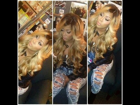 how i got my blonde kmichelle inspired hair ft glam