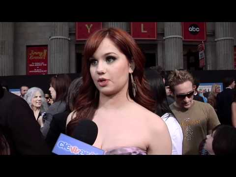 Debby Ryan Talks New Show 'Jessie' At 'Disney's Prom' Premiere