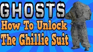 """COD Ghosts"" How To Unlock The Ghilie Suit In Multiplayer"