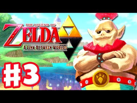The Legend of Zelda: A Link Between Worlds - Gameplay Walkthrough Part 3 - Power Glove (3DS)