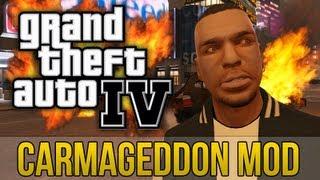 Sobrevivendo Ao Carmageddon Mod Do Capeta GTA 4 (Xbox