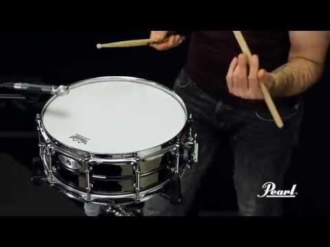 Pearl Sensitone Elite Brass 14x5 Snare Drum