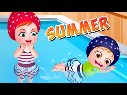 Baby Hazel Summer Vacations Game - Baby Video For Kids in English - Dora the Explorer