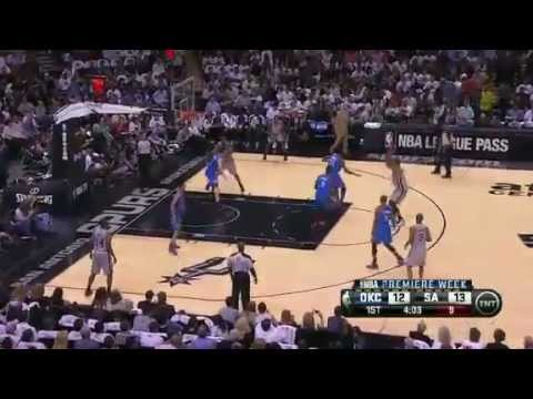 Oklahoma City Thunder vs San Antonio Spurs (Highlights) November 1, 2012