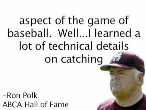 Foreword by Ron Polk for Catching-101 Book by Xan Barksdale