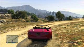 Grand Theft Auto 5 The Big Ballad Forest Desert City All