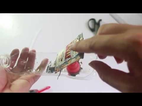 Đồ chơi trẻ em : làm tàu thủy hơi nước