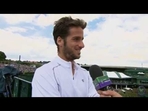 Feliciano Lopez happy with a 'tough' win - Wimbledon 2014