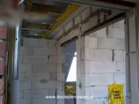 Murowanie ścianek działowych