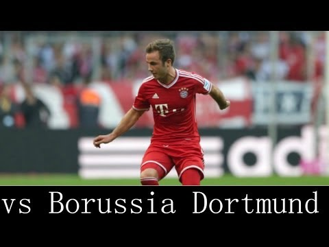 Mario Gotze vs Borussia Dortmund Away 13-14 - Individual Highlight HD 720p