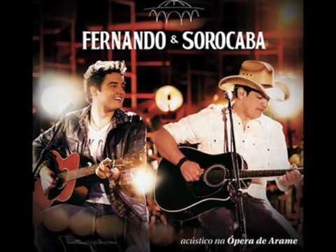 ( Nova ) - Fernando e Sorocaba - Apelou - Acústico 2 - Ópera de Arame