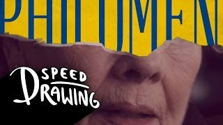 Philomena 2014 Oscar Best Picture Poster Speed Drawing HD
