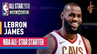 LeBron James 2018 All-Star Captain | Best Highlights 2017-2018