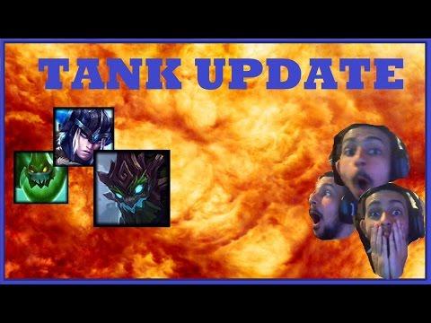 MID SEASON TANK UPDATE PBE PATCH 7.9 | Zac, Sejuani & Maokai Rework League of Legends Gameplay