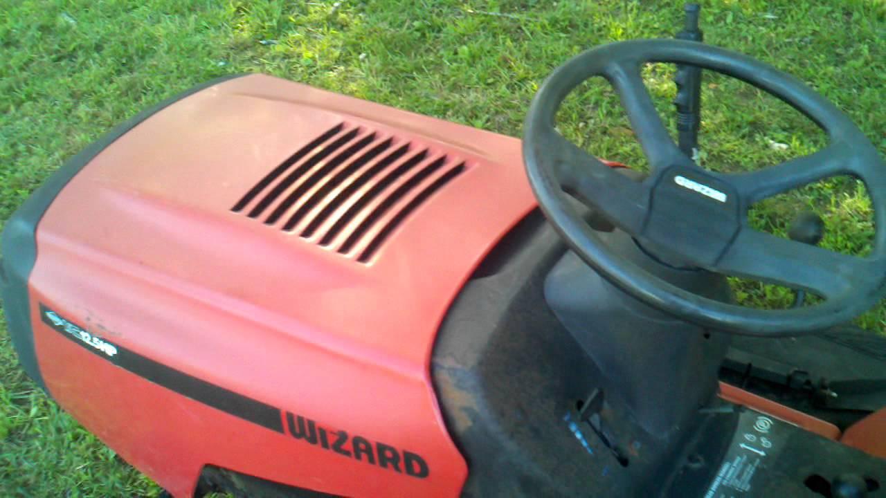 Wizard Lawn Mower Youtube