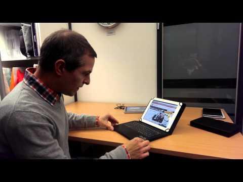 Cooper Cases Infinite Executive Dell Venue 8 Pro keyboard folio case