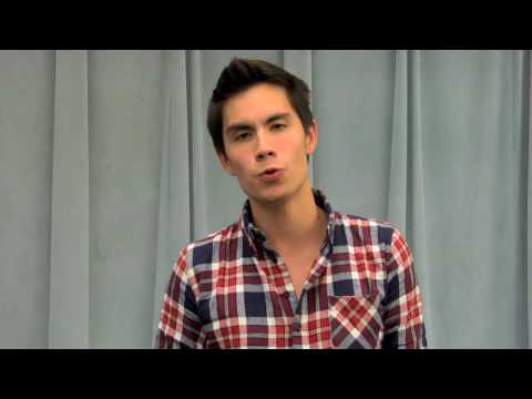 Sam Tsui GLEE Audition!! (True Colors)