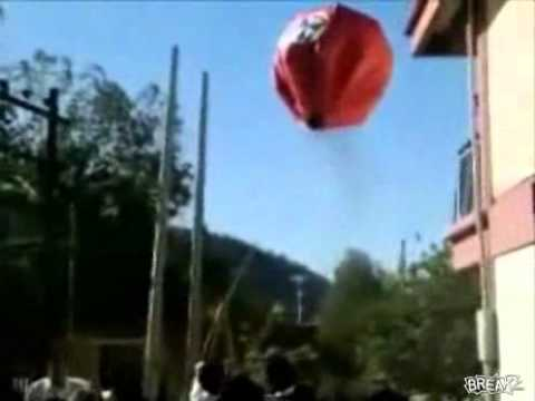 Balloon Blows Transformer