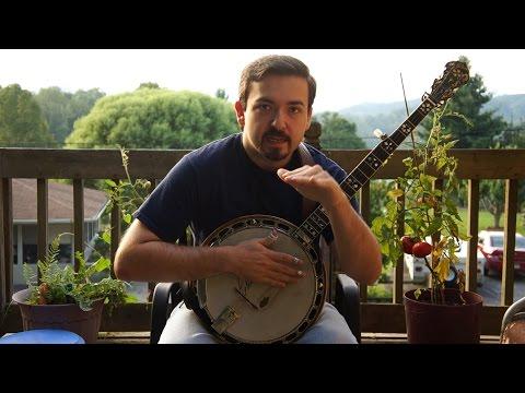 60 Second Banjo Lesson - Walk to C (version 1)