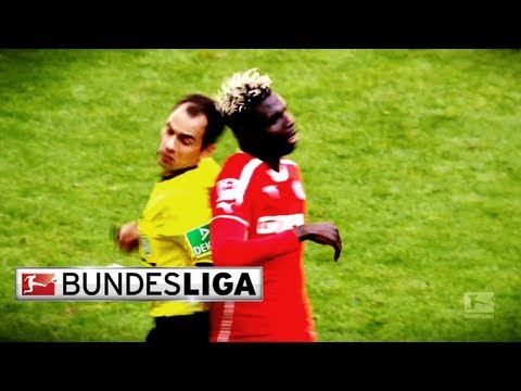 Bance Gets Bowled Over By Referee