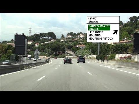 [ FR ] A8 Nice - Antibes - Cannes