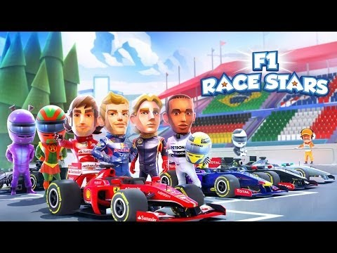 F1 Race Stars™ - Universal - HD (Sneak Peek) Gameplay Trailer