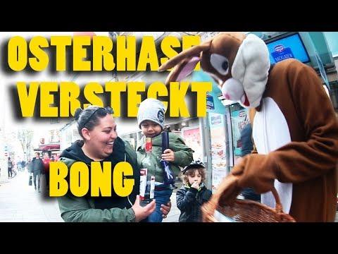 Osterhase versteckt Bong - Wiener