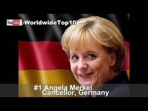World's Top 10 Most Powerful Women